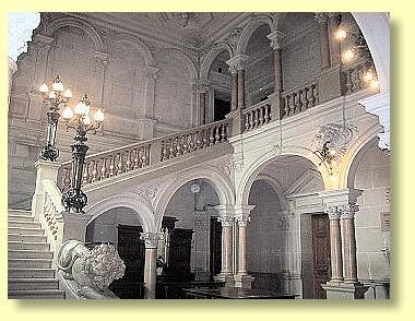 intérieur du château